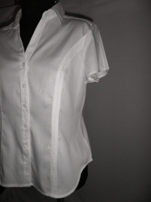 Nue Options Button Down Shirt White