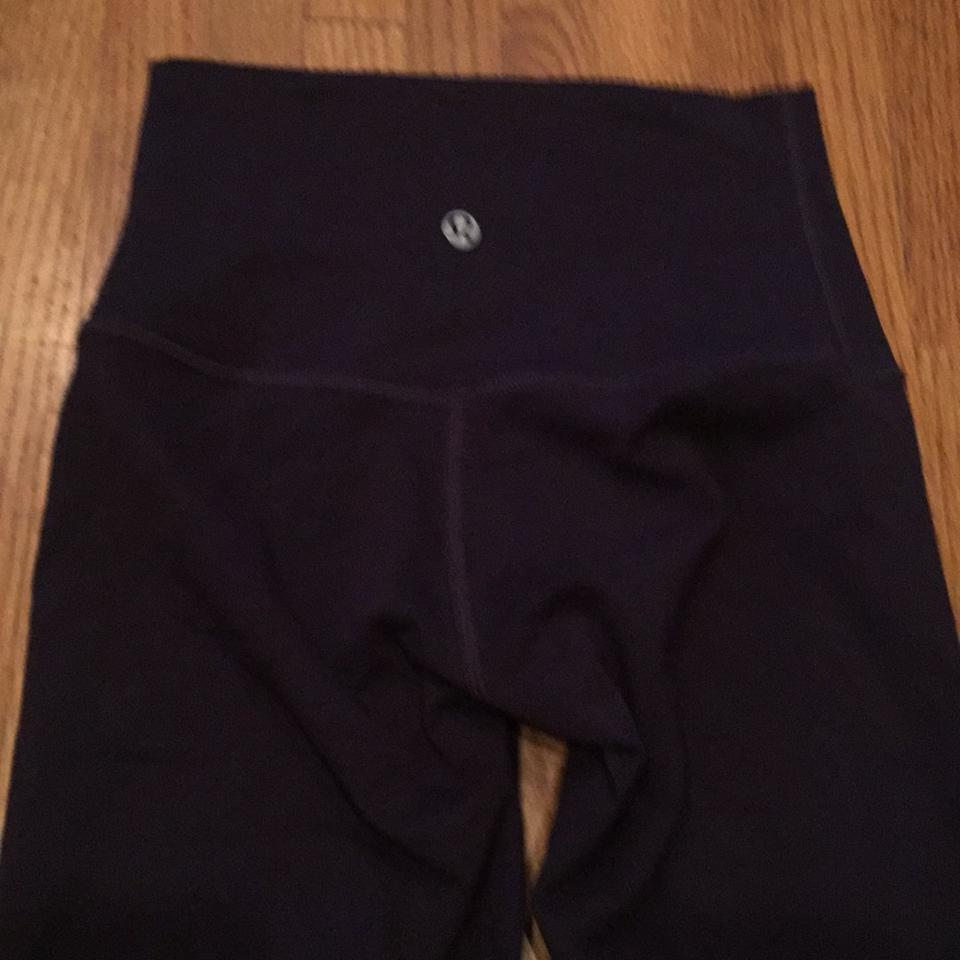 3bdd1f1729 Lululemon Purple Wunder Under Pant *roll Down Activewear Bottoms ...