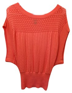Windsor Elastic Laser Top Coral