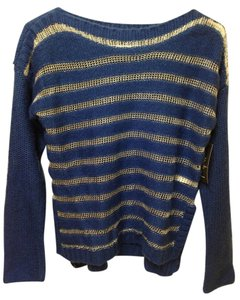 Jessica Simpson Mesh Striped Knit Fall Sweater