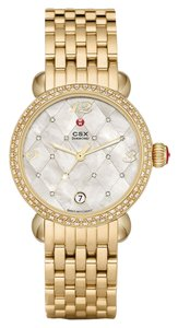 Michele NEW Authentic Michele CSX Mosaic Quilted Diamond Dial Limited MW03R01B0974 Watch