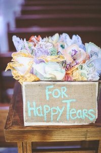 Hanky Panky 30 Tears Of Joy Napkin Reception Decoration