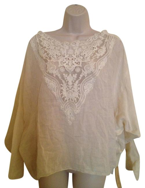 Preload https://img-static.tradesy.com/item/11916637/ralph-lauren-ivory-denim-and-supply-embroidered-blouse-size-16-xl-plus-0x-0-1-650-650.jpg