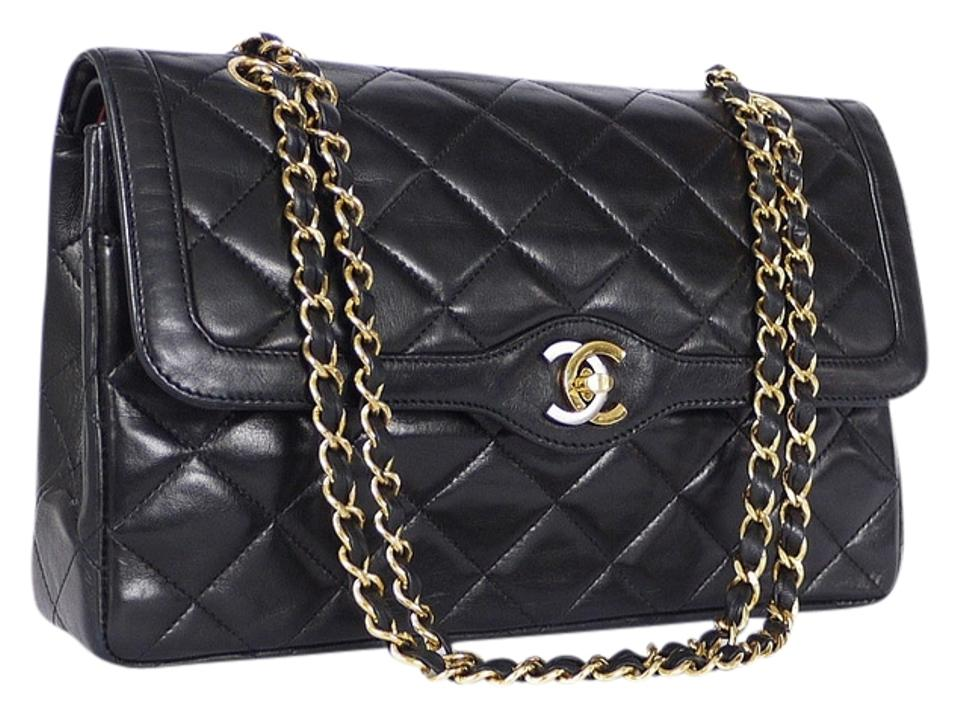f8e68aba1302 Chanel Vintage Limited Edition Double Flap Classic 2.55 Rare Cross Body Bag  Image 0 ...