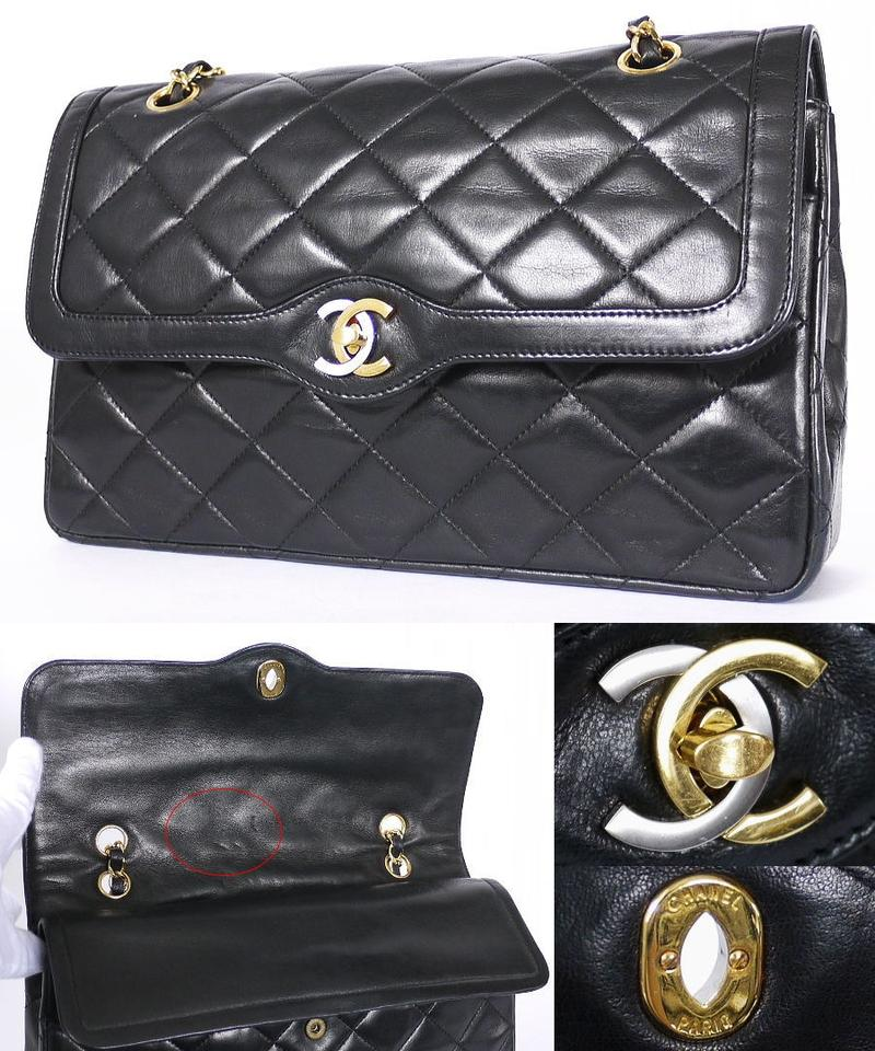41aa219df06161 Chanel Vintage Limited Edition Double Flap Classic 2.55 Rare Cross Body Bag  Image 7. 12345678