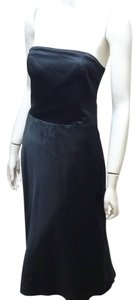 A|X Armani Exchange Strapless Satin Dress