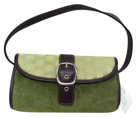 Annie C. Suede Dots Shoulder Bag