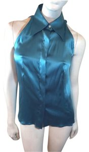 Maison Martin Margiela Top Blue
