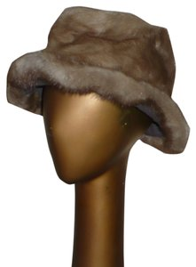 Genuine Mink Fur Fedora by ROSEMARIE New York