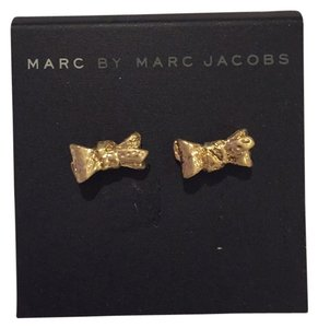 Marc by Marc Jacobs Marc By Marc Jacobs Tiny Bow Antique Oro Earrings