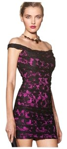 Express Ruched Formal Dress