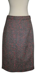 J.Crew Skirt Black Neon Multi