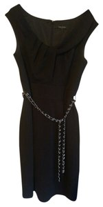 White House | Black Market Belted Lbd Dress