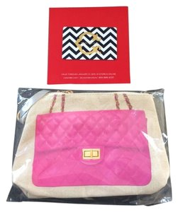 Thursday Friday Hot Pink Clutch