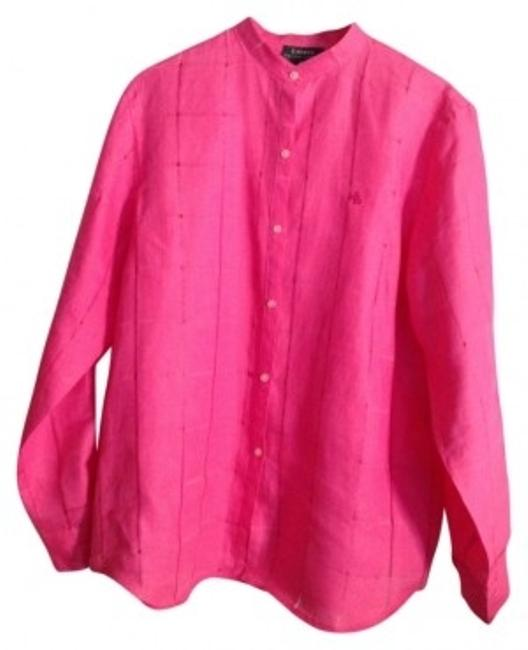 Preload https://img-static.tradesy.com/item/11924/lauren-ralph-lauren-bright-pink-typical-style-and-quality-blouse-size-16-xl-plus-0x-0-0-650-650.jpg