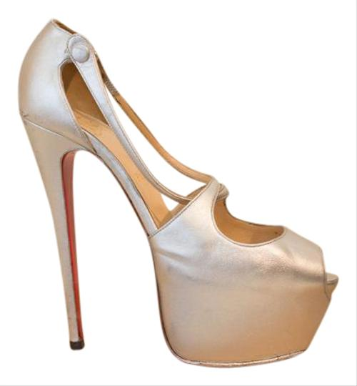 Preload https://item3.tradesy.com/images/christian-louboutin-silver-exagona-leather-pumps-395-9-platforms-size-us-85-1192457-0-5.jpg?width=440&height=440