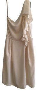 Lela Rose One Bridesmaid Elegant Knee Length Formal Dress