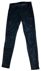 J Brand Coated Denim Skinny Skinny Jeans-Coated