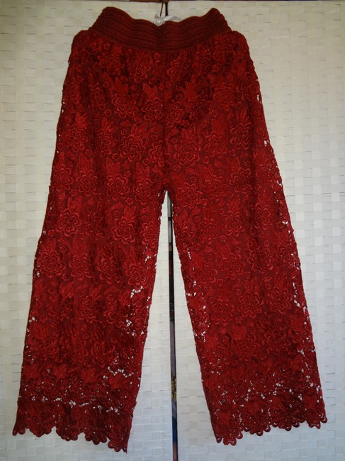 Other Wide Leg Pants red Image 2