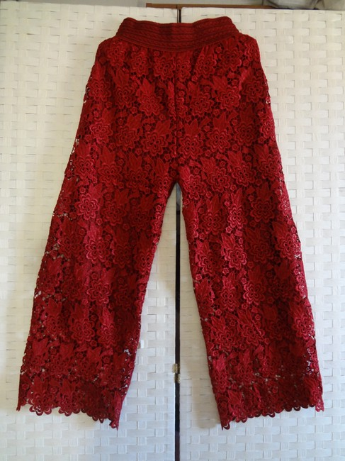 Other Wide Leg Pants red Image 4