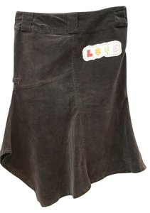 OMAI Stretchy Skirt BROWN