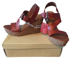 Mossimo Supply Co. Cognac Wedges