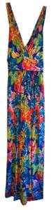 Multi-colored Maxi Dress by Floral