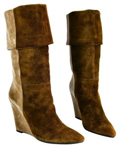 7 For All Mankind Brown Boots