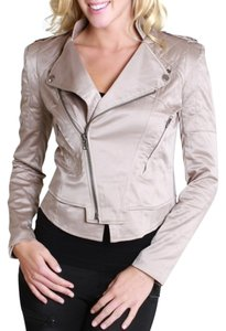 Nikibiki Satin Quilted Taupe Jacket