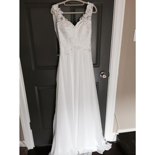 Vintage Wedding Dress Xs: White Vintage Wedding Dress Size 0 (XS)