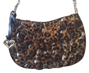 Brighton Roselie Leopard Shoulder Bag
