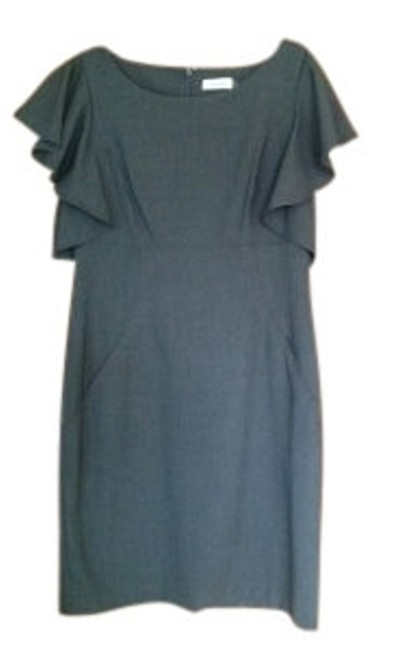 Preload https://item3.tradesy.com/images/calvin-klein-gray-above-knee-night-out-dress-size-12-l-11927-0-0.jpg?width=400&height=650