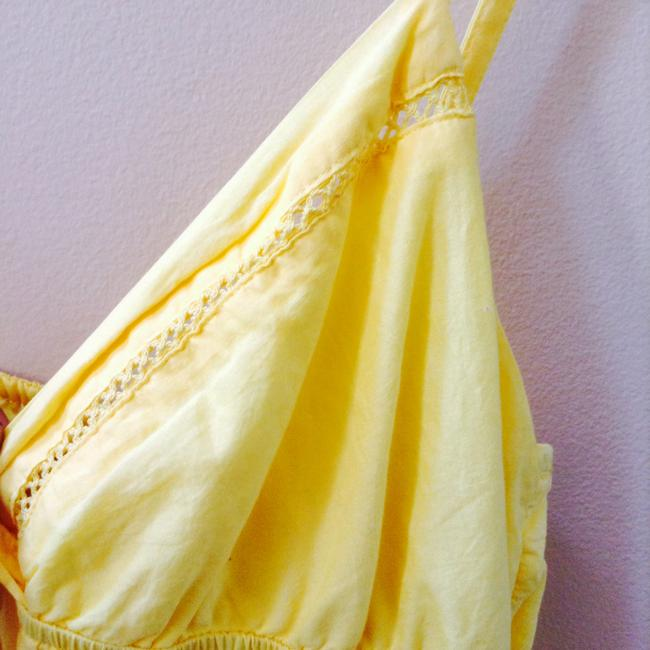 Forever 21 short dress Yellow on Tradesy
