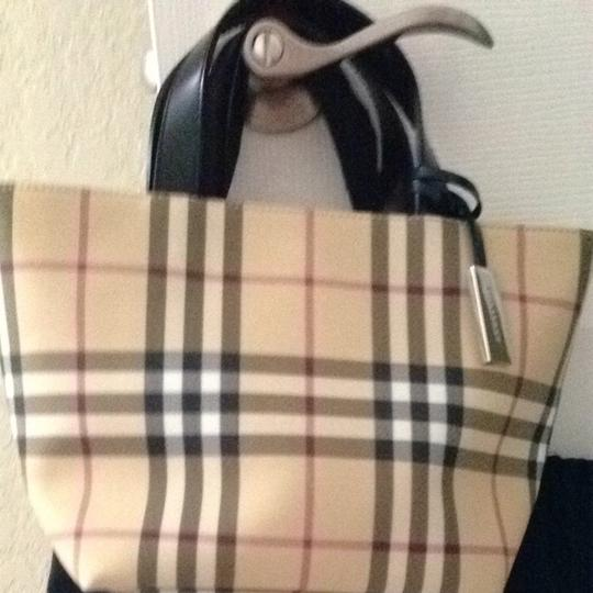 Burberry Satchel in Haymarket check