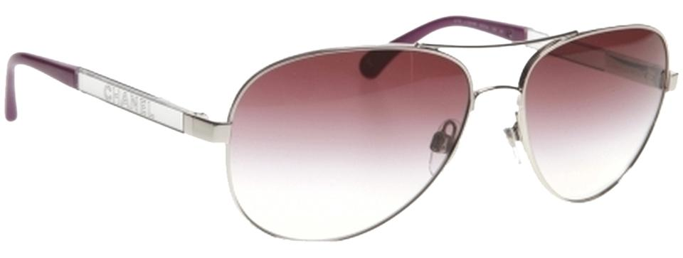 Chanel purple sunglasses 45 off chanel accessories for Chanel collection miroir 4179