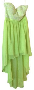 Lime/White Maxi Dress by Forever 21