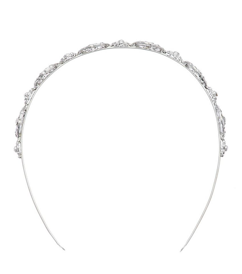 Nina Silver Michaela Swarovski Crystal Headband Hair Accessory