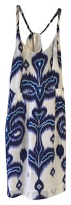 Banana Republic short dress Blue/White Blue on Tradesy