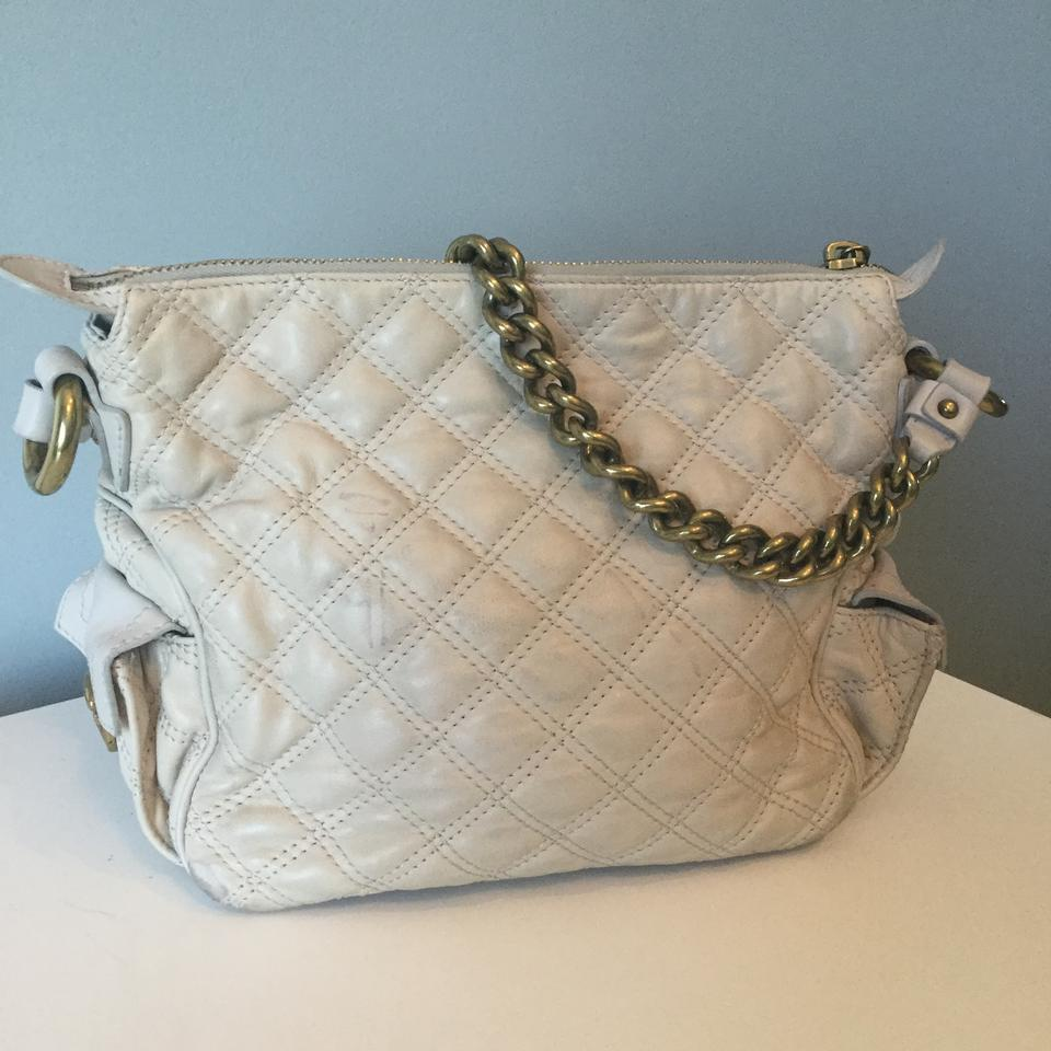 d32896a462 Marc Jacobs Chain Cream Quilted Leather Shoulder Bag - Tradesy