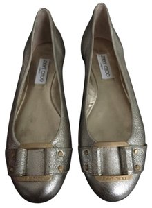Jimmy Choo Platinum Flats