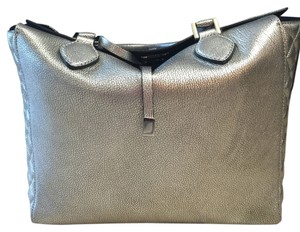 MICHAEL Michael Kors Satchel in Silver