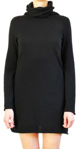 Aqua Little Cashmere Winter Office Sweater Dress