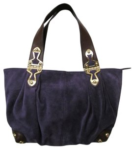 Michael Kors New With Tag Satchel in Iris
