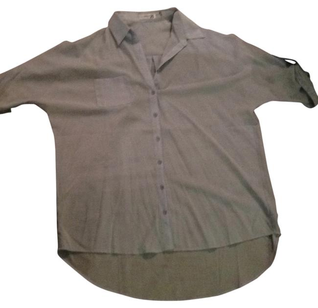 Light Blue Button-down Top Size OS (one size) Light Blue Button-down Top Size OS (one size) Image 1