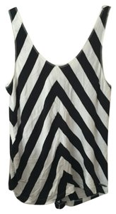 Roxy Casual Summer Top Black, White