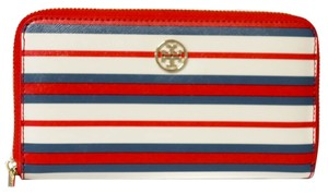 Tory Burch TORY BURCH Robinson Striped Continental Wallet