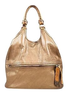 Givenchy Tone Gold Tone Crocodile Embossed Trim Hobo Shoulder Bag