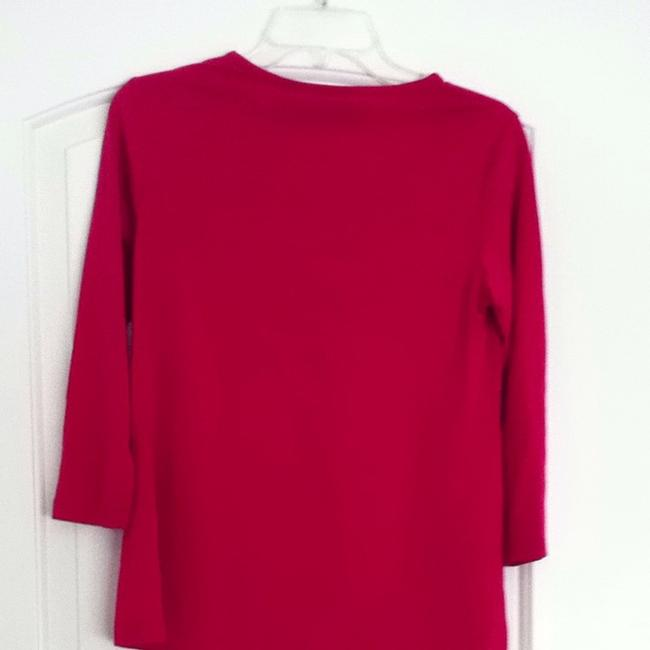 announcements Red Sweater