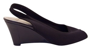 Circa Joan & David Black Wedges