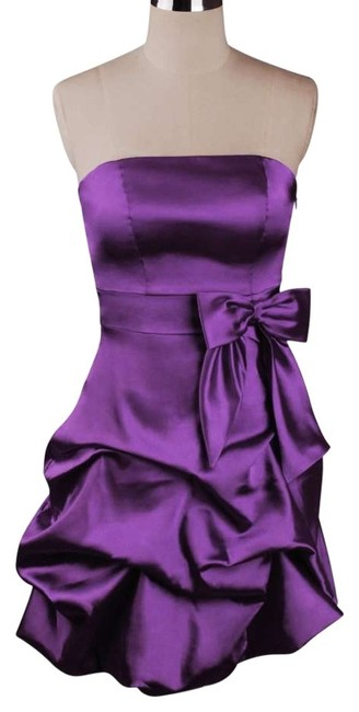 Preload https://item2.tradesy.com/images/purple-strapless-satin-pickup-sizesmall-above-knee-formal-dress-size-6-s-119326-0-0.jpg?width=400&height=650